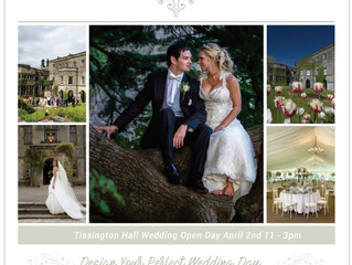 Tissington Hall Wedding Open Day