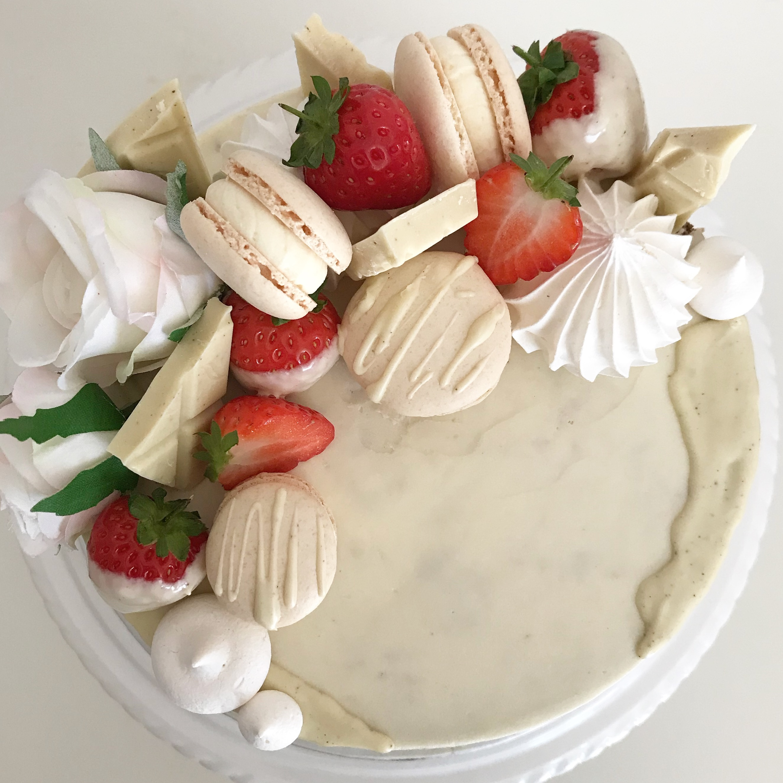 Wimbledon Crescent cake