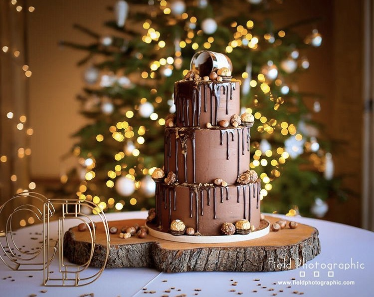 Nutella wedding cake