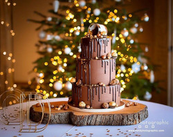 Nutella wedding cake