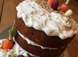Double helpings of carrot cake