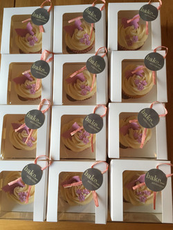 Gift boxed cupcakes Ashbourne