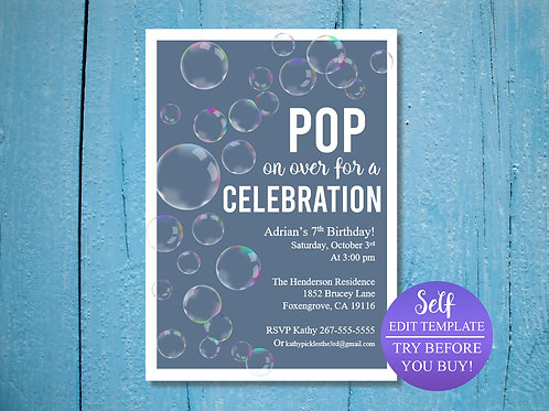 POP on Over Invitation
