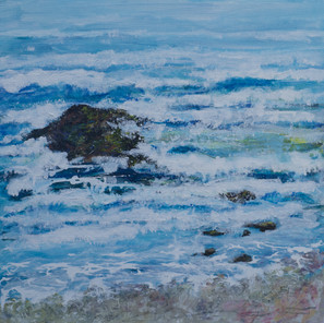 EVENING LIGHT - TIDE COMING IN