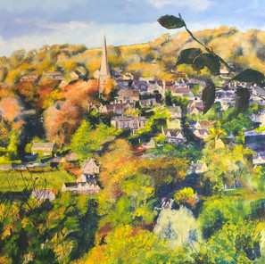PAINSWICK FROM ACROSS THE VALLEY