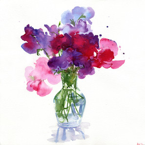 SWEETPEAS FROM THE GARDEN