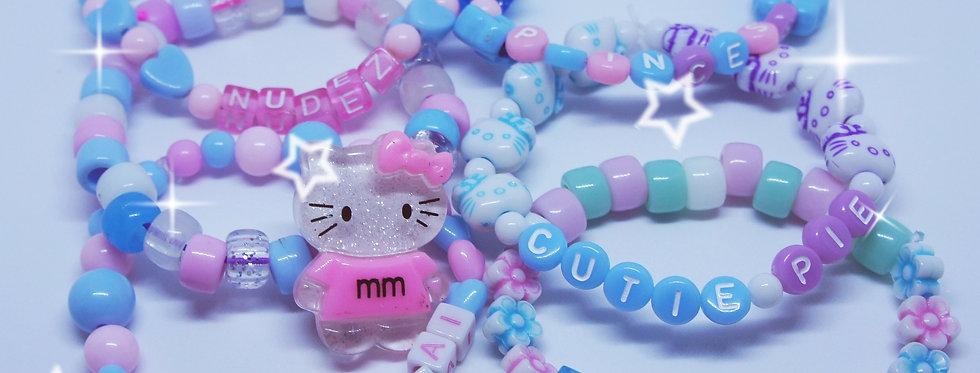 bracelets for the kawaii