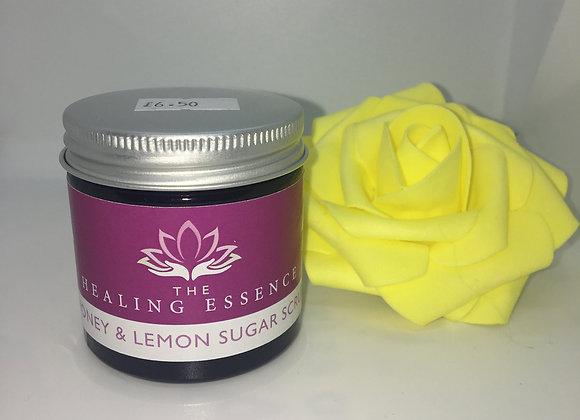Honey and Lemon Sugar Scrub