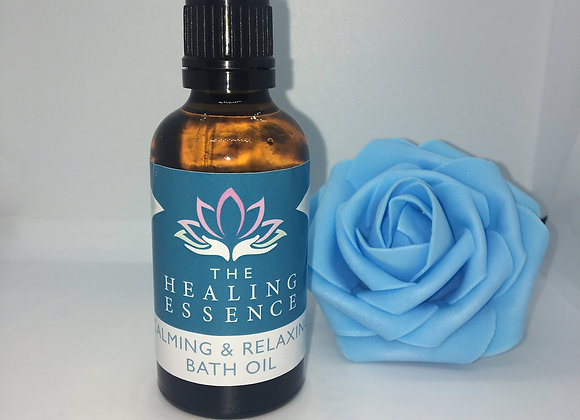 Calming and Relaxing Bath Oil