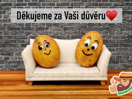 Všechny brambory doprodány❤