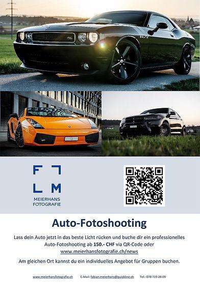 Auto-Fotoshooting