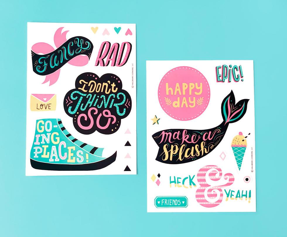 Tween Sticker Collection