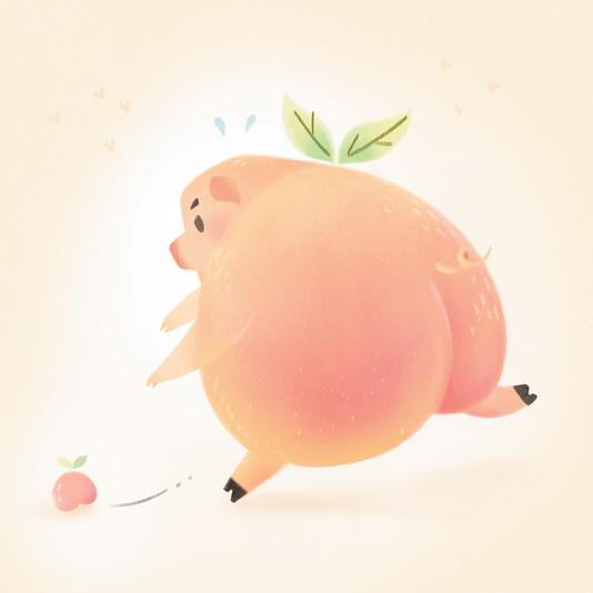 Peachy Pig