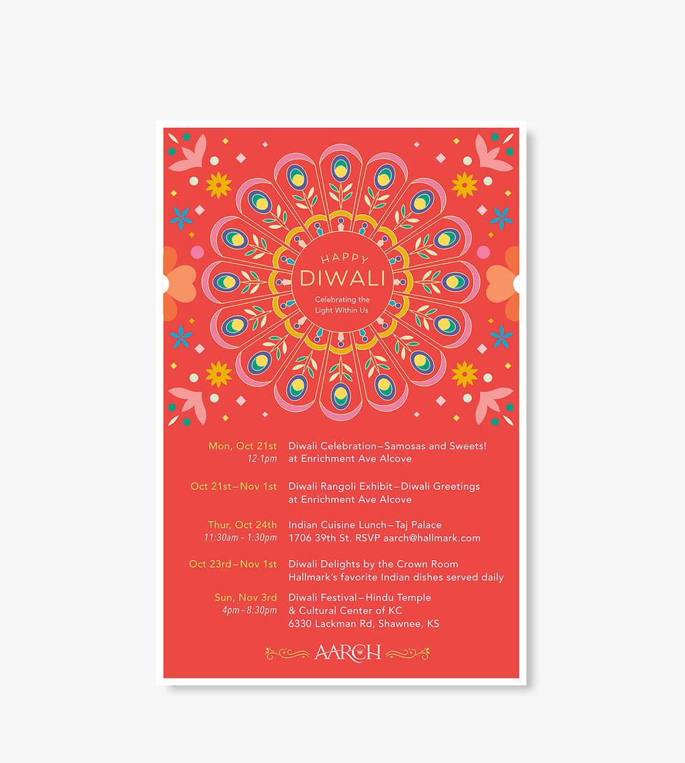 AARCH Diwali Poster