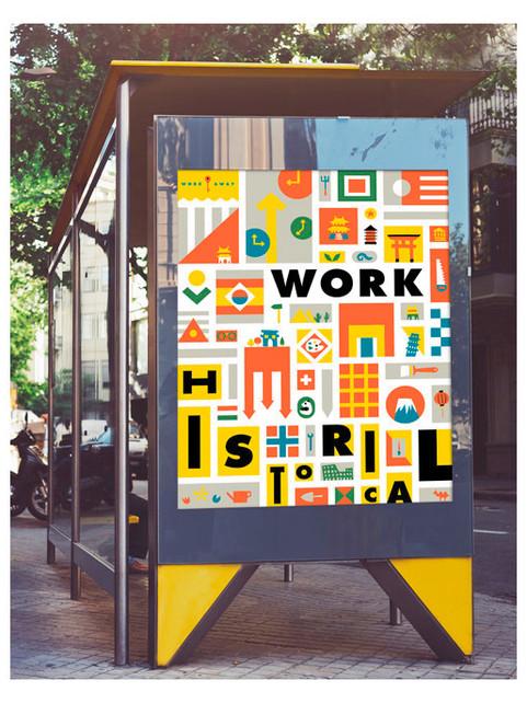 Workaway Poster Design