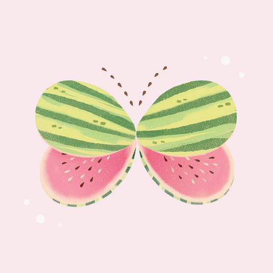 Butterfly Watermelon