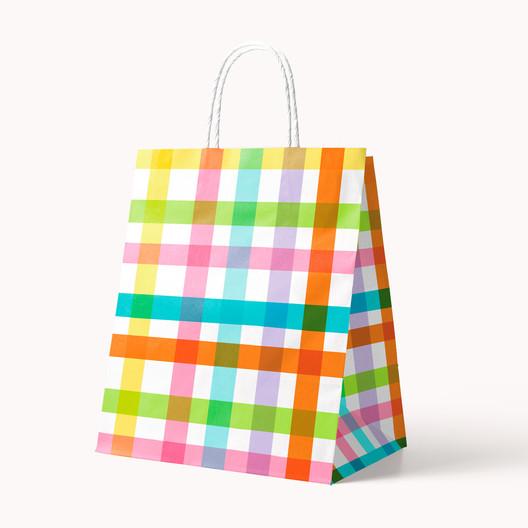Stiff Handle Bag