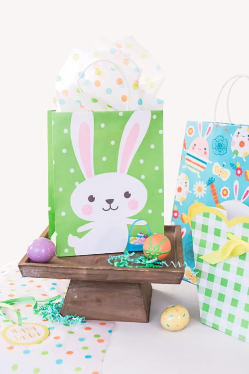 Easter Stiff Handle Bags