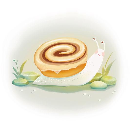 Cinnamon Bun Snail