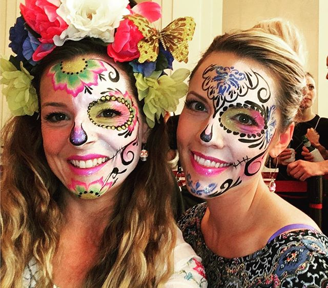 Sugar Skull Facepaintings