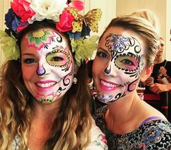 Sugar Skull Facepaintings