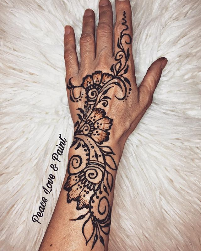 #henna for #springbreak!  Inspired by _j