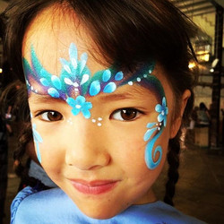 Pretty Princess Face Paint