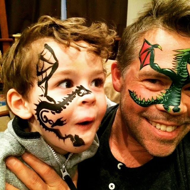 Dragon FacePainting