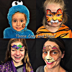 Halloween Costume Face Painting