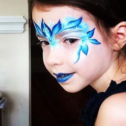 Frozen Princess Elsa Face Painting