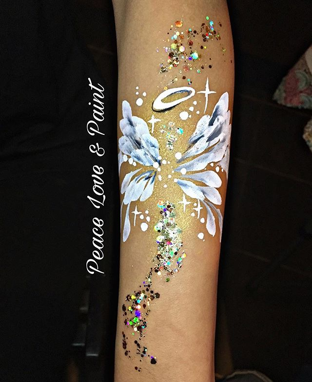 Angel Wings Arm Art