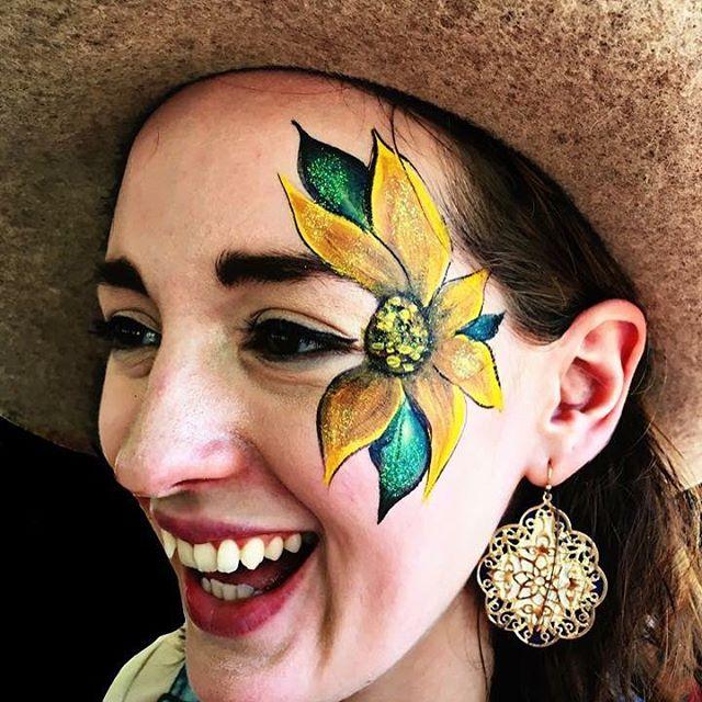 Sunflower Eye Design
