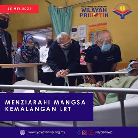 YB Menteri Wilayah Persekutuan ziarah mangsa kemalangan LRT