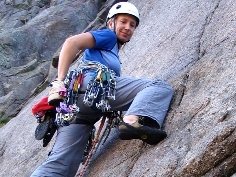 Vidaregåande klatrekurs