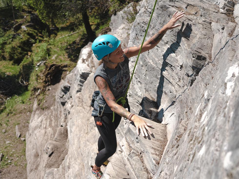 Introduksjonskurs i klatring