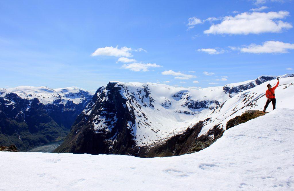 En esquí de travesía a Breiskrednosi