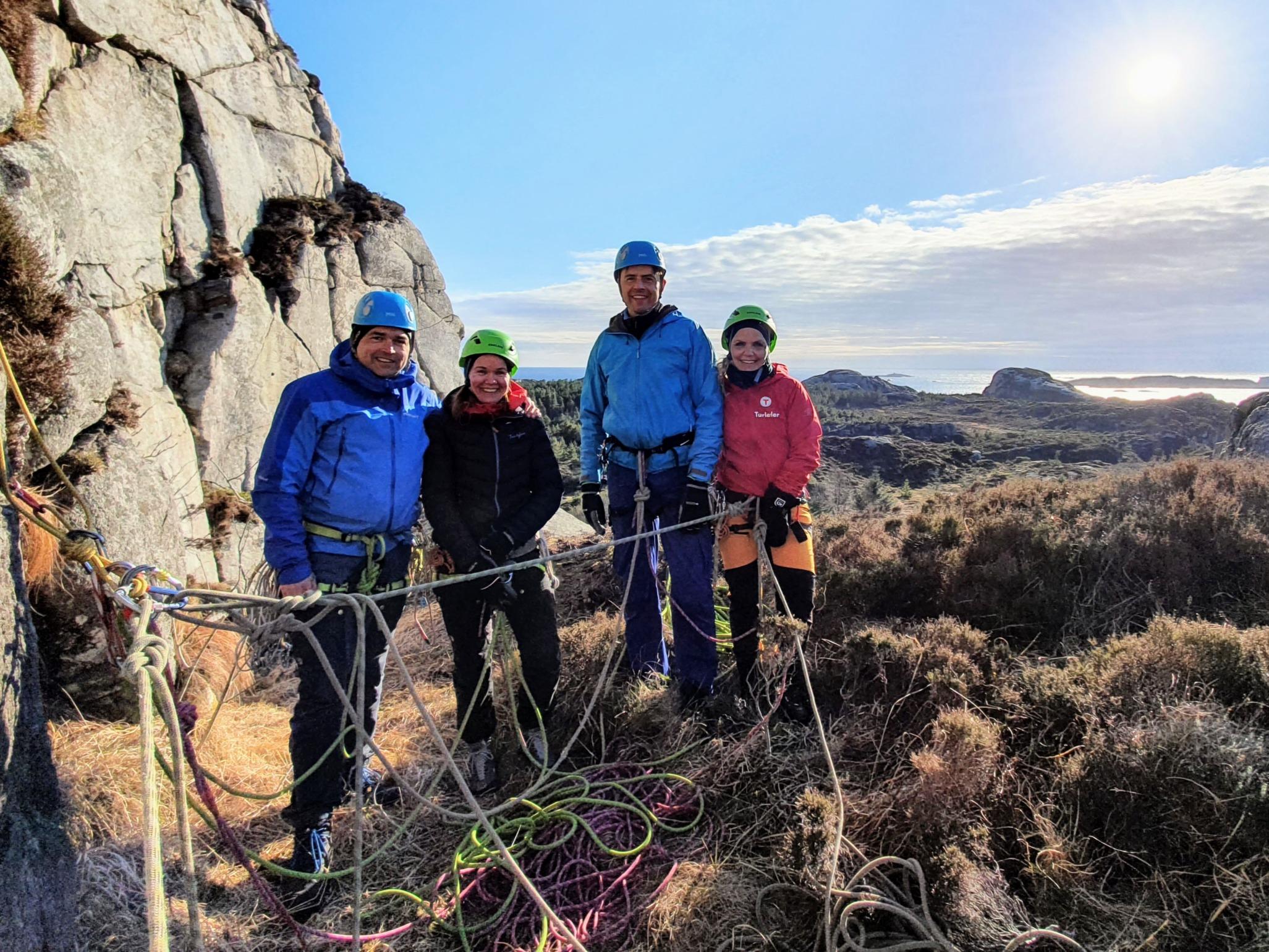 Kurs i klatring og fjellsport