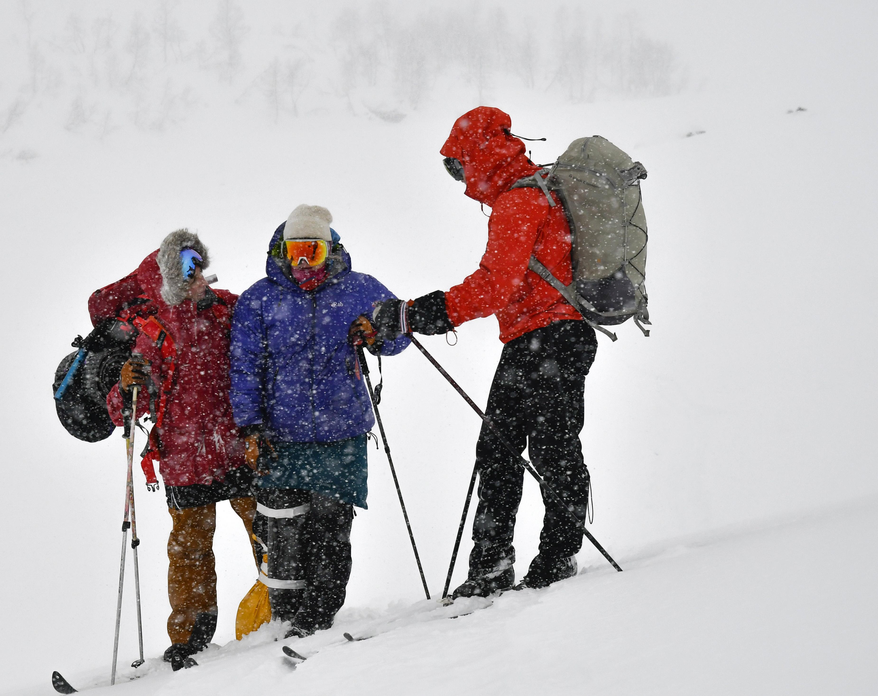 Curso de primeros auxilios Invernal