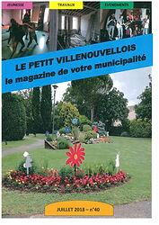 Couverture Petit Villenouvellois juillet