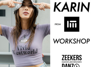 1Million導師KARIN-Guest Workshop at Zeekers Danz on 15.12.2019!!!