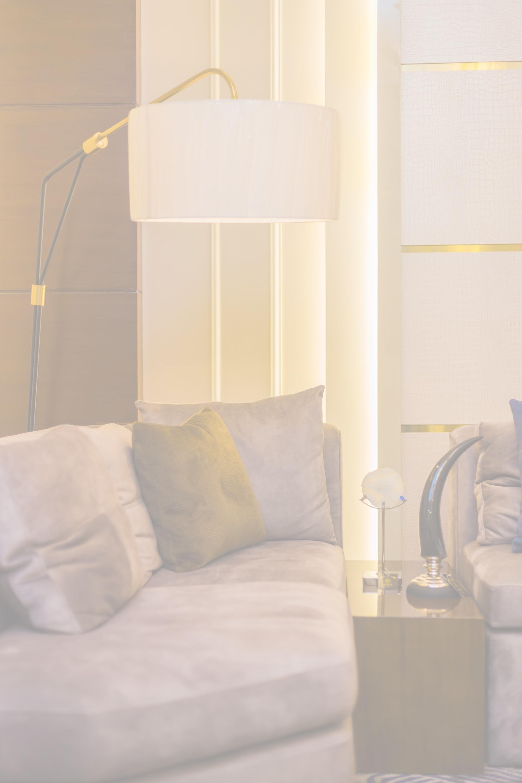 white teak company lamp