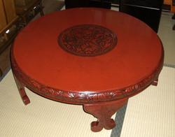 鎌倉彫座卓修理