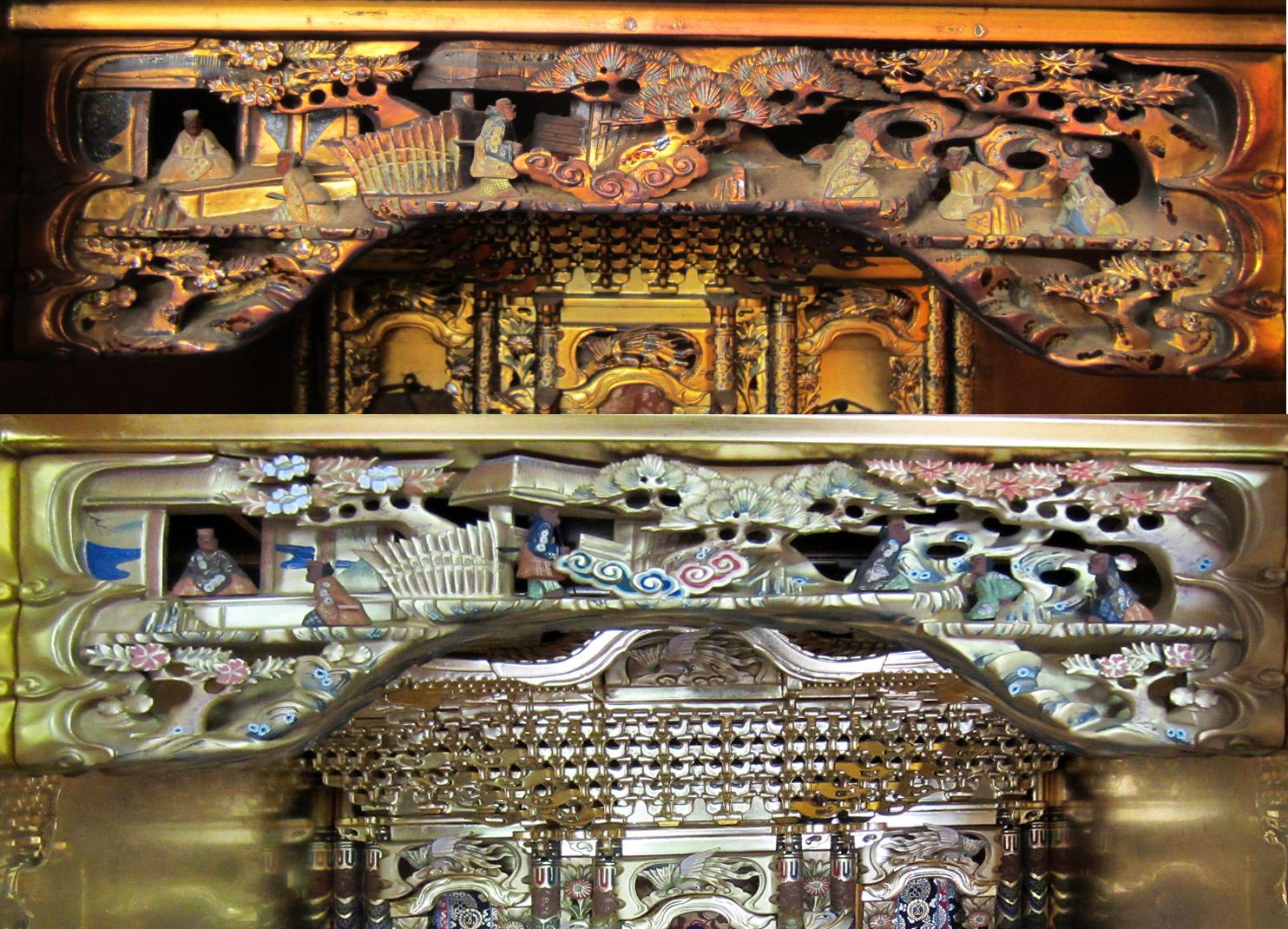 仏壇塗替え