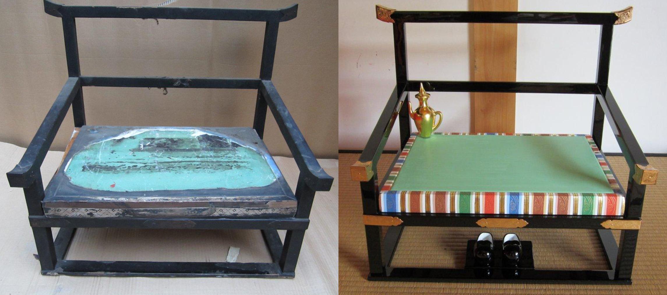 椅子塗替え