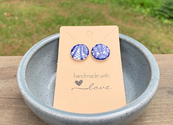 Circle Lace Earrings