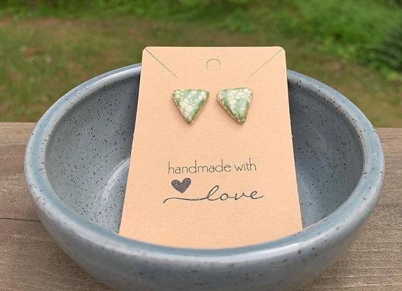 Triangle Lace Earrings