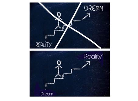 Los sueños no se hacen realidad, se hacen realidad tus elecciones.