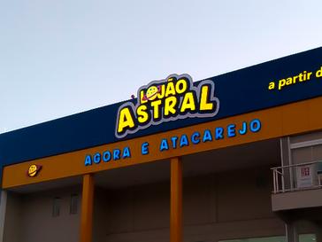 LOJÃO ASTRAL GRAFTIM - AZUL BRILHO E AMA