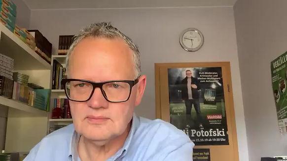 Ulli Potofski freut sich auf die HomBuch 2020