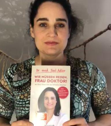 Dr. Yael Adler freut sich auf die HomBuch 2020